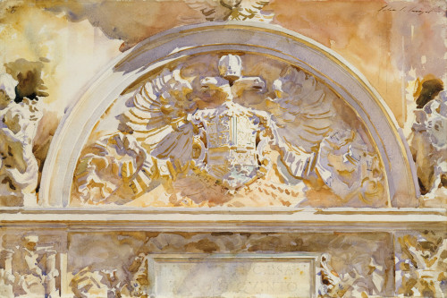 Escutcheon Of Charles V Of Spain Fine Art - Item # VAREVCHISL045EC356