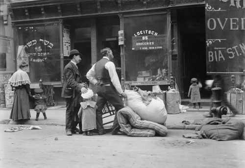 Eviction From An Apartment On The New York City'S Jewish Lower East Side Neighborhood. From 1904-08 History - Item # VAREVCHISL017EC128