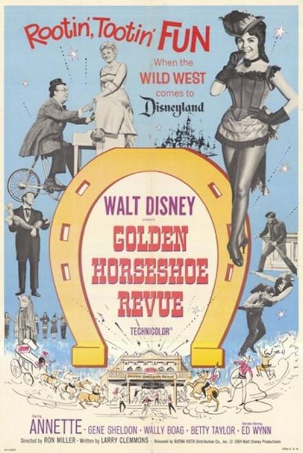 The Golden Horseshoe Revue Movie Poster (11 x 17) - Item # MOV209119
