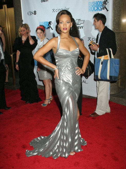 Rihanna At Arrivals For Fashion Rocks Concert Benefits Elton John Aids Foundation, Radio City Music Hall At Rockefeller Center, New York, Ny, September 07, 2006. Photo By Rob RichEverett Collection - Item # VAREVC0607SPBOH057