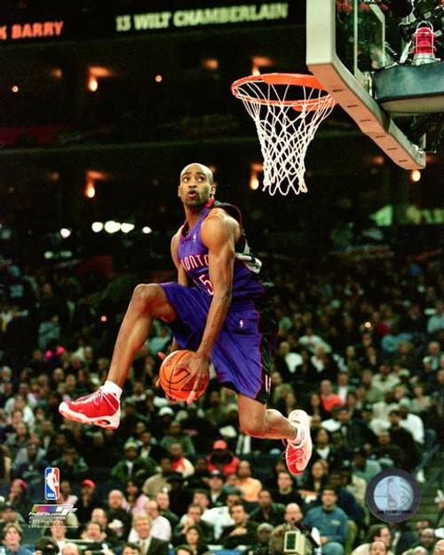 Vince Carter 2000 NBA Slam Dunk Contest Photo Print - Item # VARPFSAAVA084