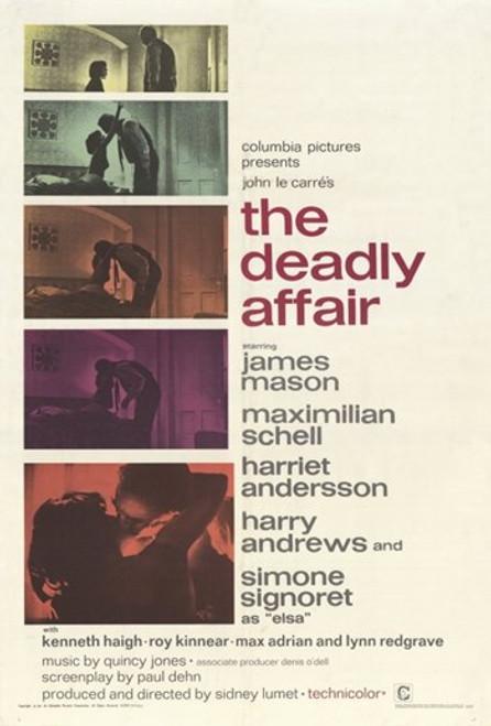 Deadly Affair Movie Poster (11 x 17) - Item # MOV254986