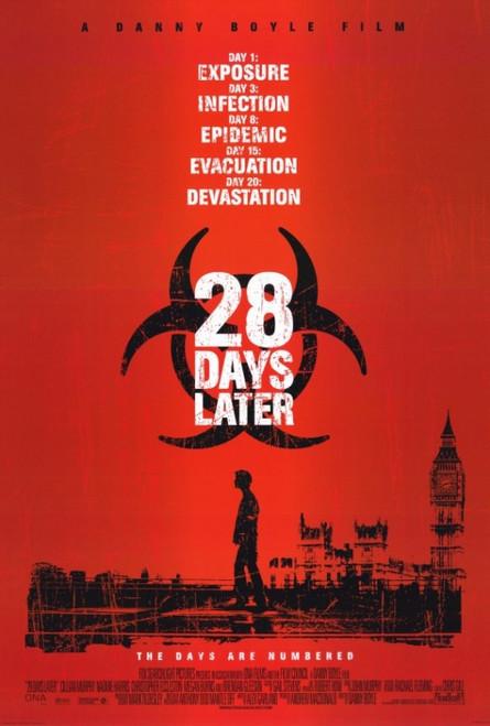 28 Days Later Movie Poster Print (27 x 40) - Item # MOVCF3319