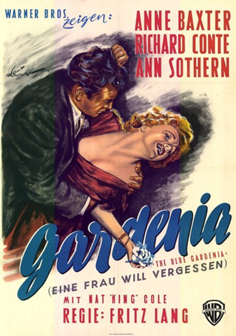 The Blue Gardenia Movie Poster (11 x 17) - Item # MOV228417