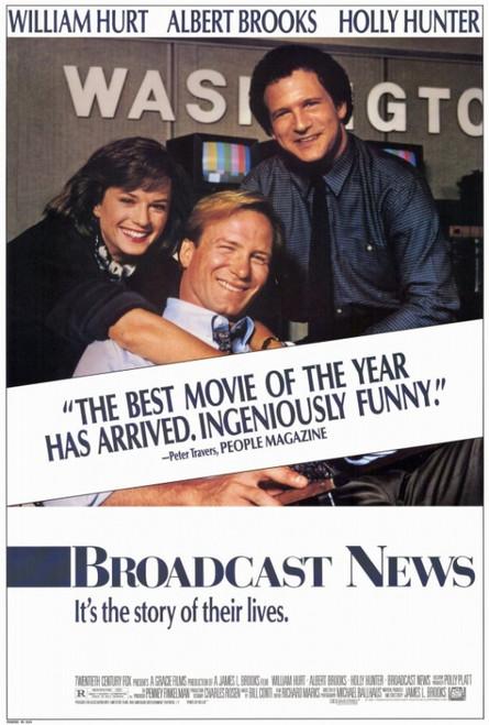 Broadcast News Movie Poster Print (27 x 40) - Item # MOVEF3439