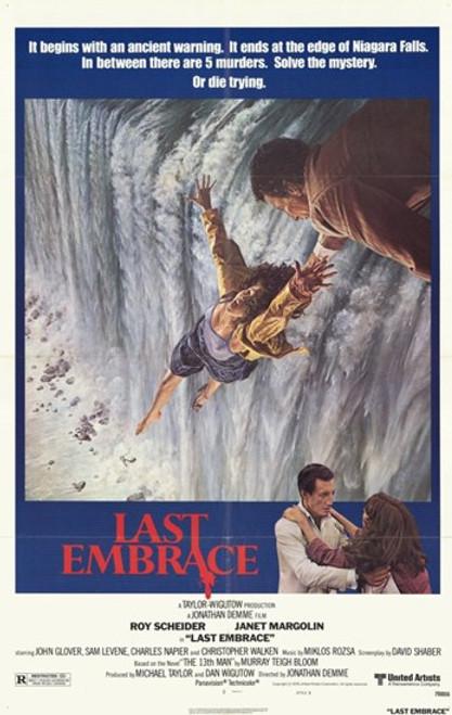 Last Embrace Movie Poster (11 x 17) - Item # MOV232844
