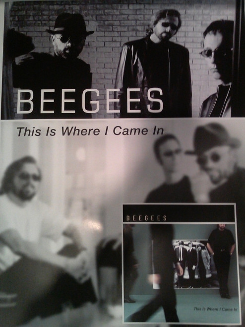 Beegees This Is Where I Came In Version 1 P.. - Item # RAR99914469
