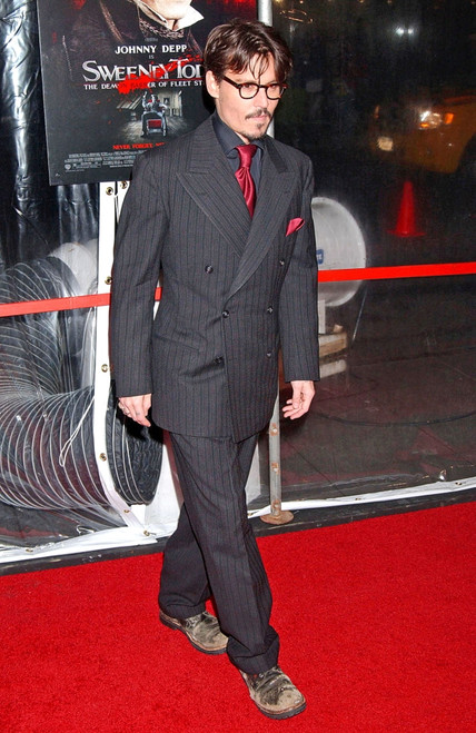 Johnny Depp At Arrivals For Sweeney Todd New York Premiere, Ziegfeld Theatre, New York, Ny, December 03, 2007. Photo By Kristin CallahanEverett Collection Celebrity - Item # VAREVC0703DCDKH004