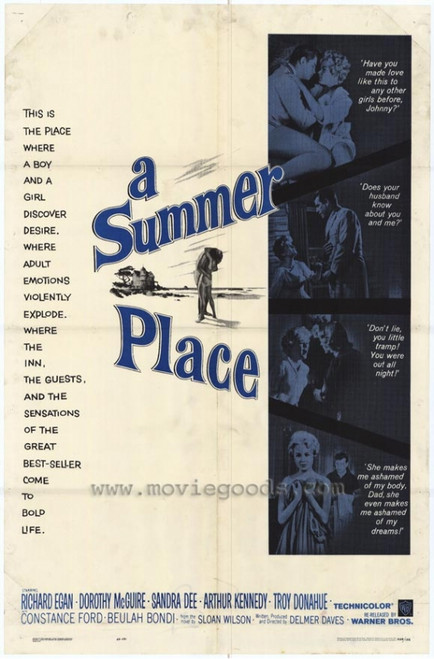 A Summer Place Movie Poster Print (27 x 40) - Item # MOVGF4890