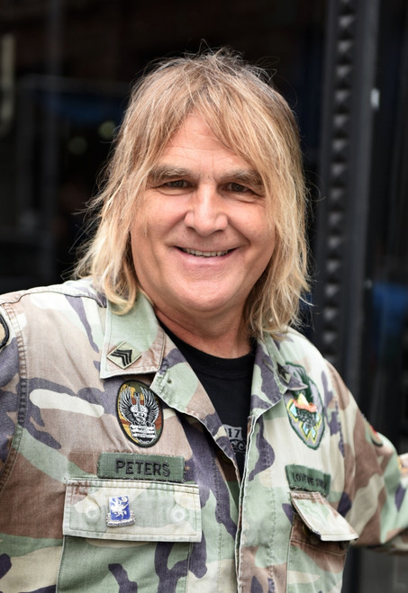 Mike Peters Of The Alarm Out And About For Celebrity Candids - Thu, , New York, Ny July 6, 2017. Photo By Derek StormEverett Collection Celebrity - Item # VAREVC1706L08XQ001