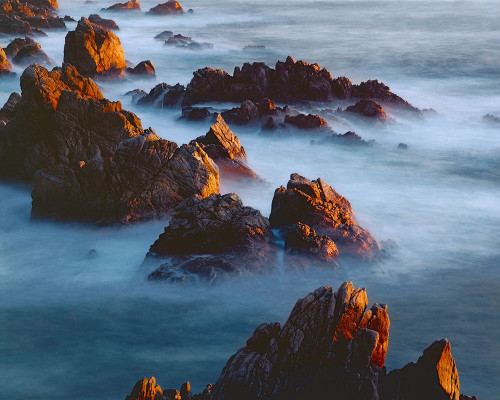 Rocks And Surf Poster Print by William Neill - Item # VARPDXWN263