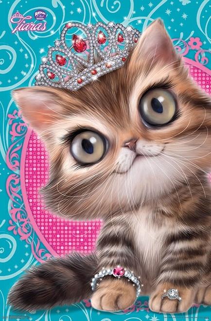 Animal Club - Kitten Tiara Poster Print - Item # VARTIARP16353