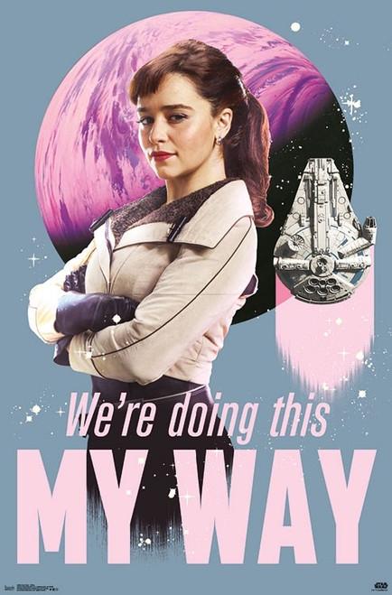 Han Solo - Qi'Ra Poster Print - Item # VARTIARP16340