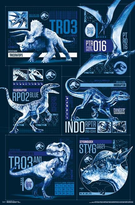 Jurassic World 2 - Grid Poster Print - Item # VARTIARP15589