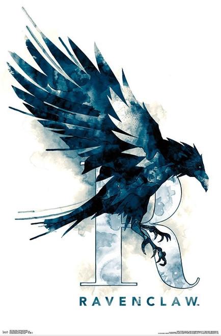 Harry Potter - Ravenclaw Illustrated Poster Print - Item # VARTIARP16727