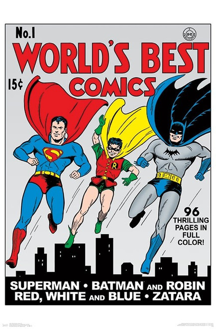 World's Best Comics #1 Poster Print - Item # VARTIARP16831