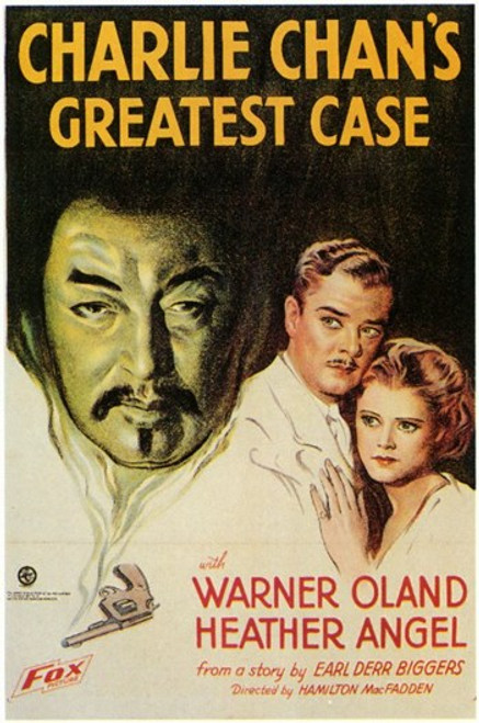 Charlie Chan's Greatest Case Movie Poster (11 x 17) - Item # MOV198470