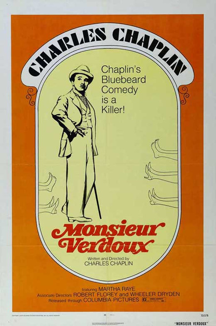 Monsieur Verdoux Movie Poster (11 x 17) - Item # MOVGJ1170