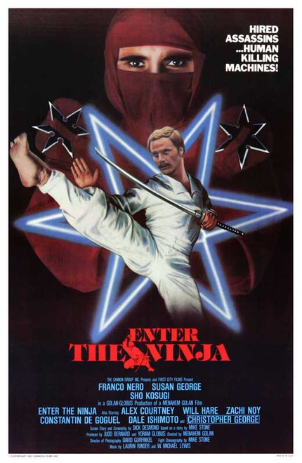 Enter the Ninja Movie Poster (11 x 17) - Item # MOVEB25311