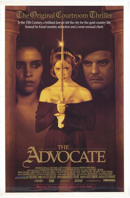 The Advocate Movie Poster Print (27 x 40) - Item # MOVAF3392