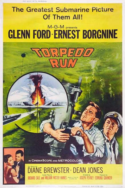Torpedo Run Movie Poster (11 x 17) - Item # MOVCB17063