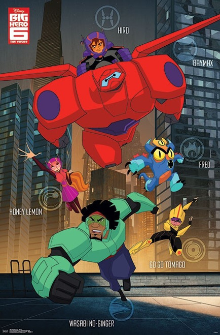 Big Hero 6 TV - Group Poster Print - Item # VARTIARP16875