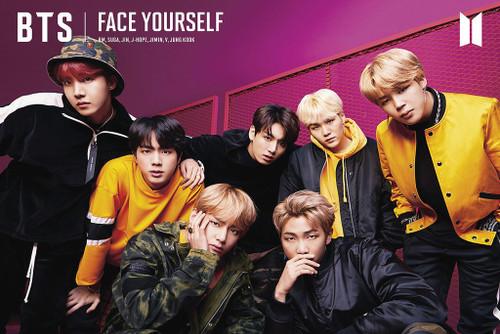BTS Face Yourself Poster Print - Item # VARXPS1594
