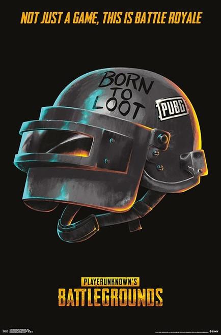 PlayerUnknown's Battlegrounds - Born Poster Print - Item # VARTIARP17134