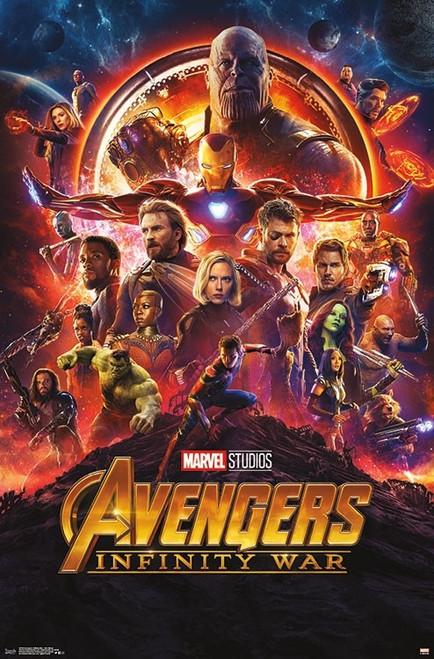Avengers Infinity War - One Sheet Poster Print - Item # VARTIARP15238