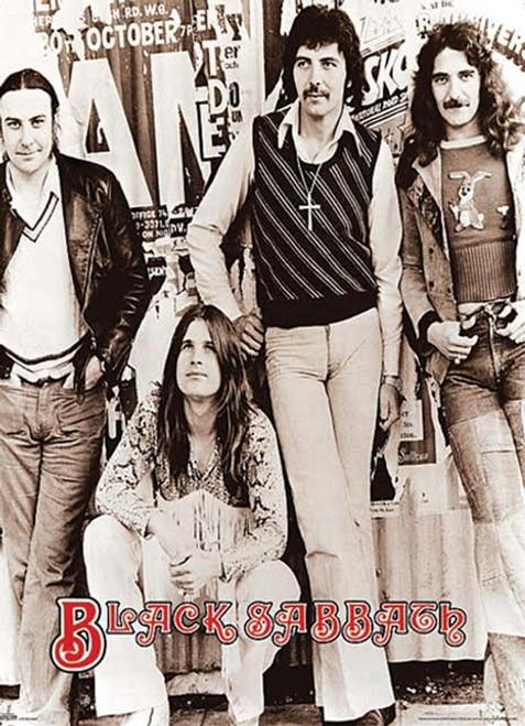 Giant Black Sabbath Early Group 40' x 55' Poster Print - Item # VARXPSGP0084