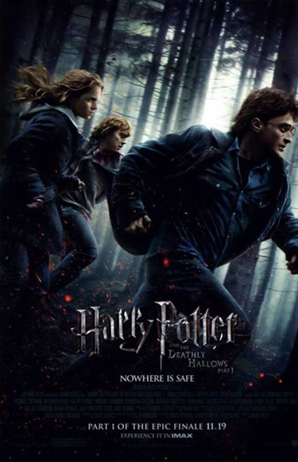 Harry Potter and the Deathly Hallows Part I Movie Poster (11 x 17) - Item # MOVEB44711