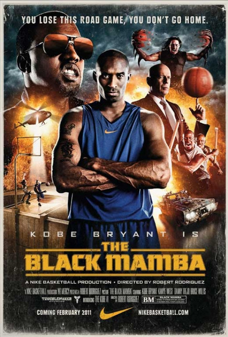 The Black Mamba Movie Poster (11 x 17) - Item # MOVAB25293