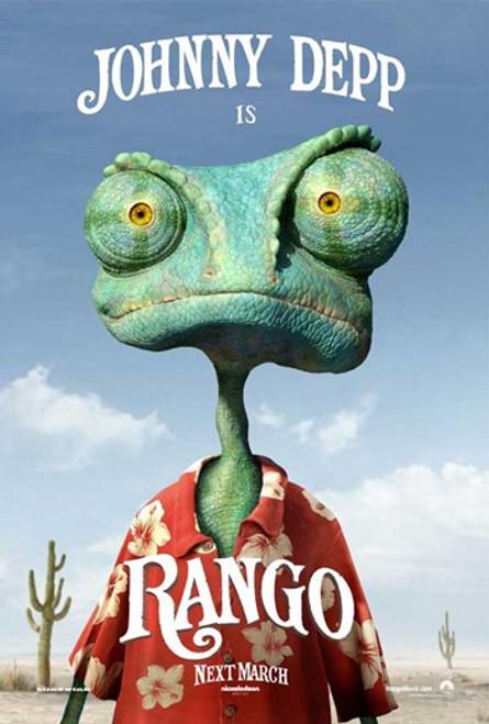 Rango Movie Poster (11 x 17) - Item # MOVIB32301