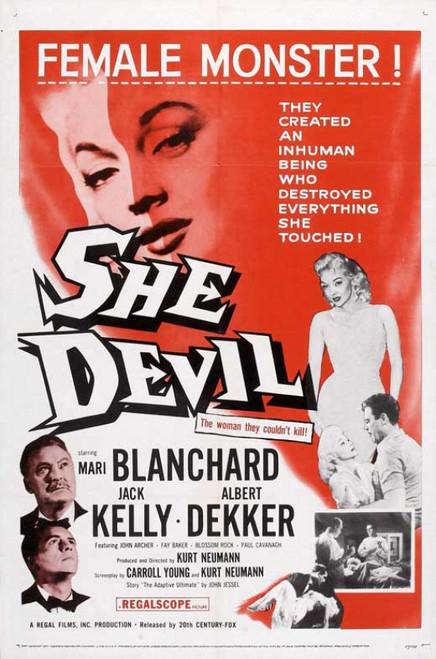 She Devil Movie Poster (11 x 17) - Item # MOVEB76680