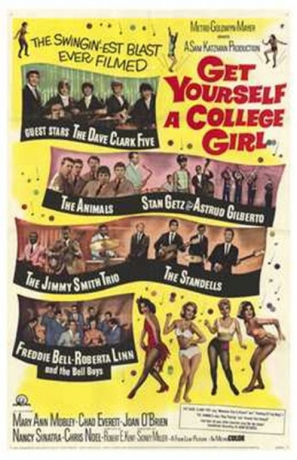 Get Yourself a College Girl Movie Poster (11 x 17) - Item # MOV170653