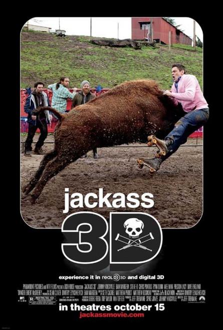 Jackass 3-D Movie Poster Print (27 x 40) - Item # MOVCB07733