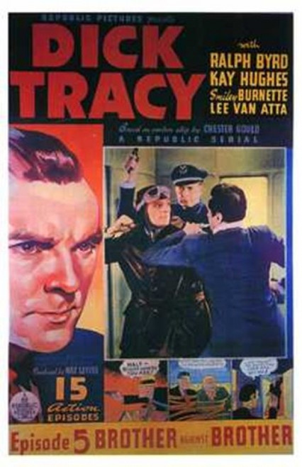 Dick Tracy Movie Poster (11 x 17) - Item # MOV202727