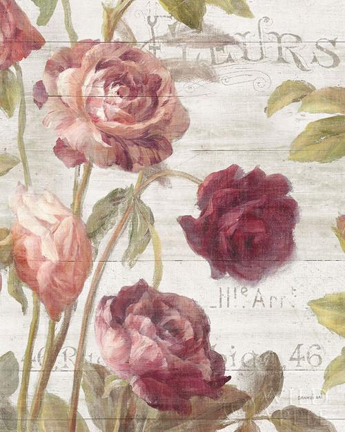 French Roses II Poster Print by Danhui Nai - Item # VARPDX46485