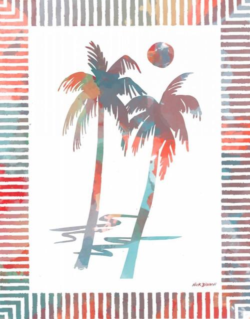 Watercolor Palms I Poster Print by Nicholas Biscardi - Item # VARPDX10399B