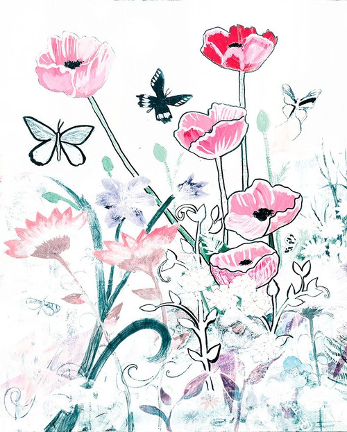 All White Garden Poster Print by Robin Maria - Item # VARPDX10712C