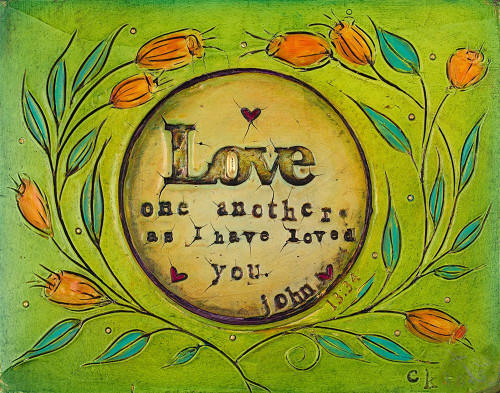 Love one Another Poster Print by Carolyn Kinnison - Item # VARPDX11831A
