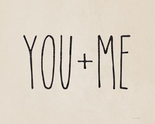 You + Me Poster Print by Jo Moulton - Item # VARPDXJM15813
