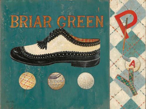 Briar Green Poster Print by Arnie Fisk - Item # VARPDX011FIS1108A
