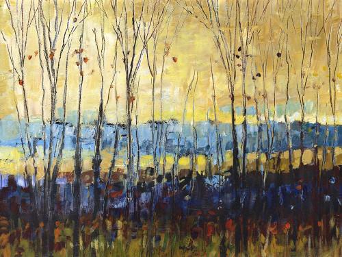 A field through trees Poster Print by Wendy Kroeker - Item # VARPDXWK001A