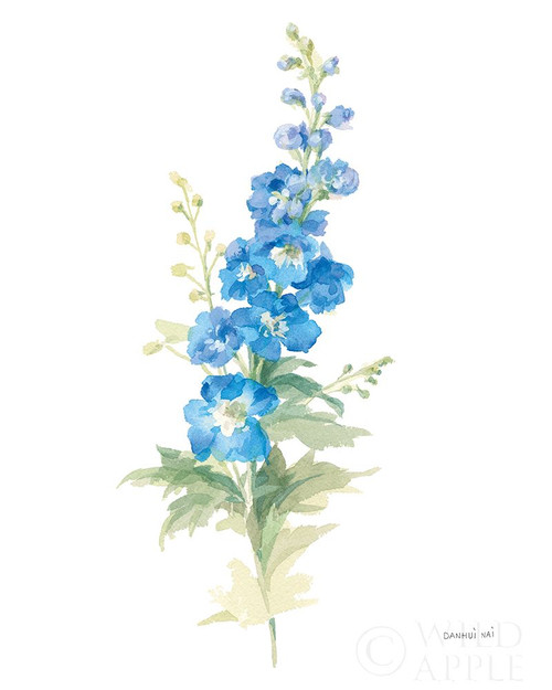 Floursack Florals on White VII Poster Print by Danhui Nai - Item # VARPDX41485