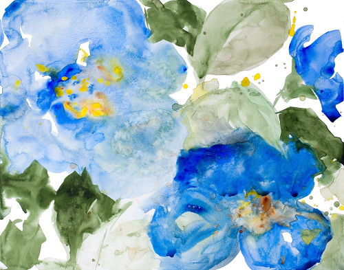 Flowers in the Rain I Poster Print by Lanie Loreth - Item # VARPDX13131
