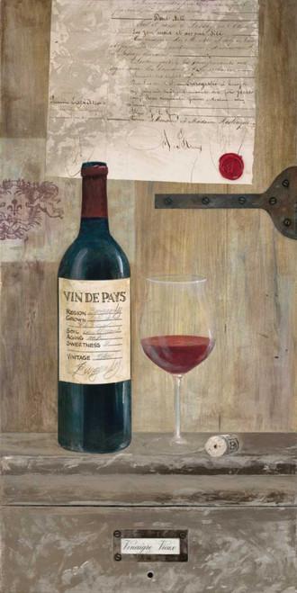 A Good Vintage - Red Poster Print by Arnie Fisk - Item # VARPDX011FIS1347