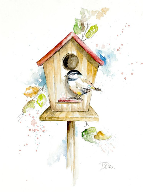 Bird House II Poster Print by Patricia Pinto - Item # VARPDX12388
