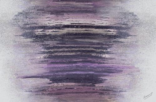 Purple Woods Poster Print by Roberto Gonzalez - Item # VARPDX8656AG