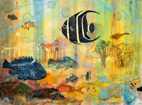 Fishes Poster Print by Robin Maria - Item # VARPDX10634